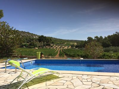 Photo for Cottage with pool in Provence at the foot of Sainte-Victoire