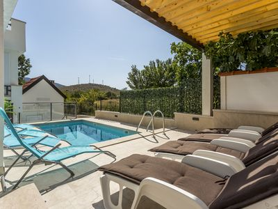 Photo for Apartment Luce with private pool