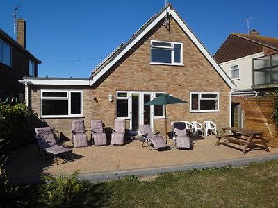 Photo for DIRECT ACCESS To Beach, Superb, Spacious family holiday home, Newly Renovated