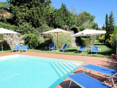 Photo for Vacation home Casa Rossa (CET300) in Certaldo - 6 persons, 3 bedrooms