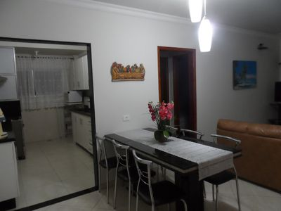 Photo for 2 bed apartment 100m from the beach with 24h security and excellent accommodation