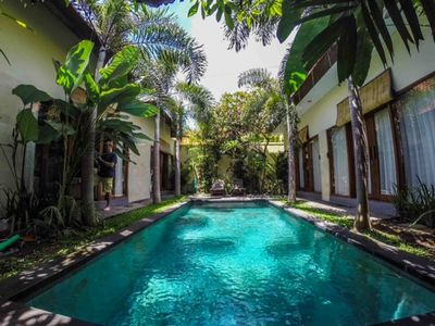 Photo for Deluxe 3-bedroom Pool Villa in Sanur ~ Daily Cleaning Service is Included ~