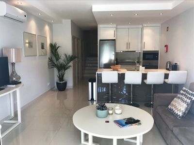 Photo for Ground floor apartment walking distance to Vale Do Lobo beach