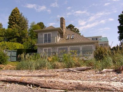 Photo for Beautiful Seattle Area Beach House on Puget Sound Waterfront