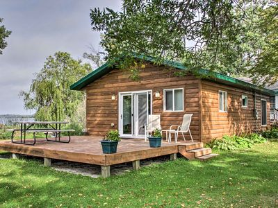 Photo for Lakefront Henning Cabin w/ Fantastic Lake Views!