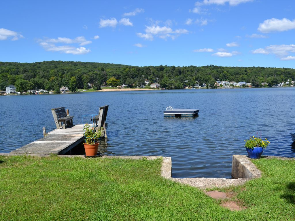 Lake Frontage,private docks