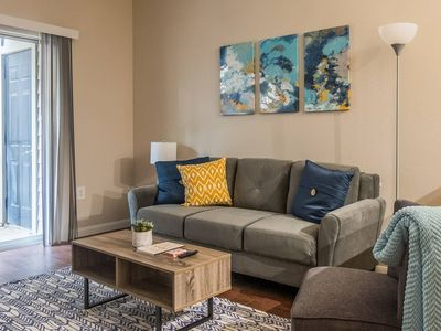 Photo for Breathtaking 1BR Apt w/ Patio + Parking
