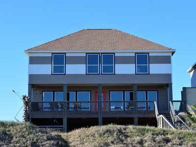 Photo for 23 Yards-Coastal Living Beachfront Home. Sleeps 30. Great for events!
