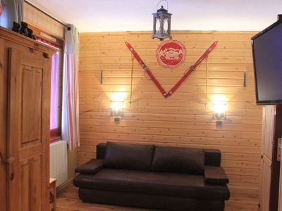 Photo for VALMOREL APT Comfortable at the foot of the slopes and shops