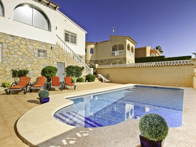 Photo for Apartments in villa with private pool