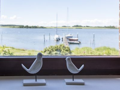 Photo for Direct location on the Schlei: Apartment upstairs with a fantastic view
