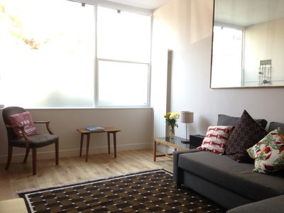 Photo for Smart and stylish one bedroom apartment in Shoreditch - sleeps four