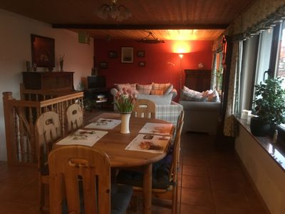 Photo for large sunny apartment on 2 floors for 2-5 persons central but quiet