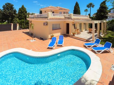 Photo for SEMESTER VILLA BETWEEN MARBELLA AND ESTEPONA COSTA DEL SOL