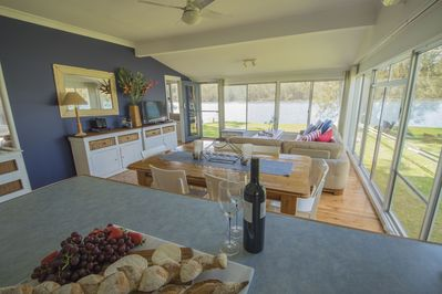 Light Bright Living/Dining area with spectacular views