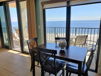 Photo for Phoenix ll - Beach Front Condo with Amazing Views