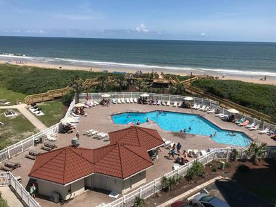 Photo for GREAT OCEAN & POOL VIEW, 2 BR/2 BATH CONDO, ST. REGIS RESORT, N. TOPSAIL BEACH,