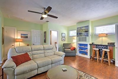 This adorable St. Pete Beach vacation rental home has been newly updated.