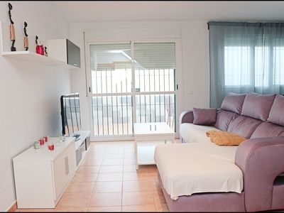 Photo for Duplex apartment in lively beach town