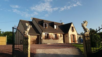 Photo for 1BR Guest House Vacation Rental in Videcosville, Normandie