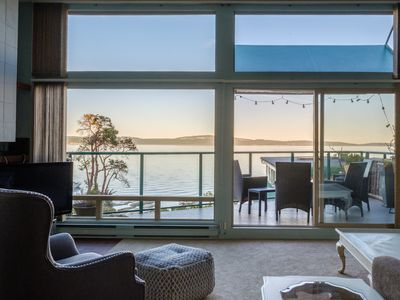Photo for Countryside Ocean View Condo on Vancouver Island