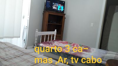 Photo for House season Campeche, Florianópolis 500 mts from the beach, plot in Card!