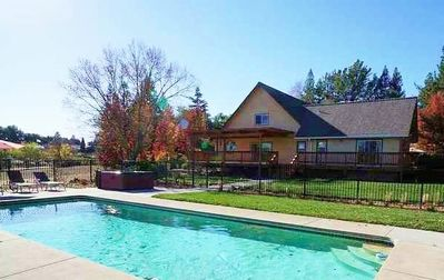 Photo for Newly Renovated 2-Story Custom 4-5Br/3.5Ba Estate W/ Pool Surrounded By Vineyard