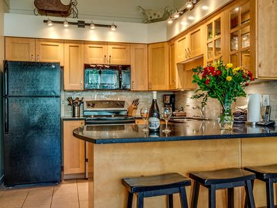 Photo for Acer Vacations | 2 Bedroom and Loft Ski-In Out Family Condo in Whistler