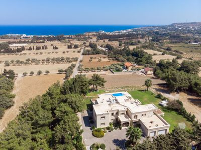 Photo for Superior Luxury Villa with Large Heated Private Pool with stunning Sea view
