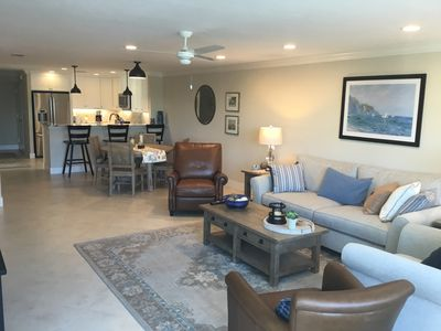Photo for Peppertree Bay Gulf Beach!- Steps from your private beach,  completely renovated