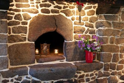 The old oven