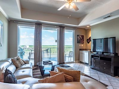 Photo for Upscale Wharf Condo ~ Stunning Views of the Bay ~ Incredible Resort Amenities!