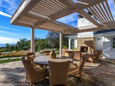 Photo for Breathtaking Ocean & 'Island View home in Montecito walk or bike to beach
