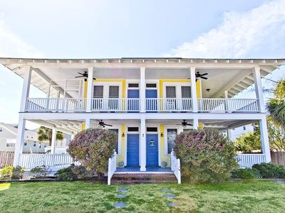 Photo for Sea View Cottage: 6 BR / 5 BA home in Tybee Island, Sleeps 20