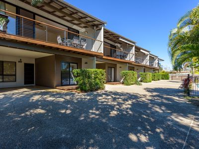 Photo for Unit 2 Rainbow Surf - Modern, double storey townhouse with large shared pool, close to beach and shops