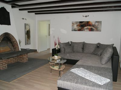 Photo for BachBlick1 - Apartment with private access, fireplace and covered terrace