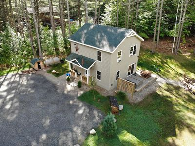 Photo for Hot Tub, Sauna, Fireplace, A/C, Dog Friendly, 1 mi to Whiteface, Forest View, Cascade Mountain Chalet