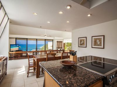 Photo for Puu Poa 413: Oceanfront Penthouse Near Hideaway Beach