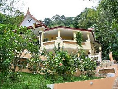 Photo for Villa niche in mountain flan with swimming pool has overflow