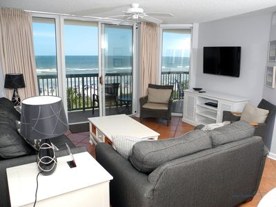 Photo for Ashworth Unit 309! Stunning Ocean Front Condo! Book your get away today!