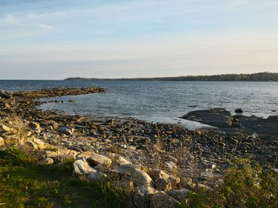 View Southwest over the Sakonnet River.