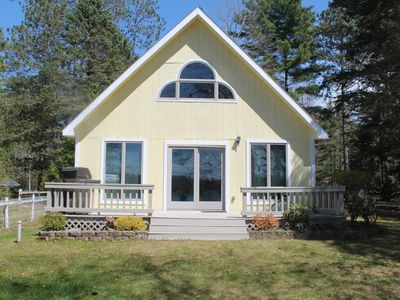 Photo for Sunset Bay Cottage on 1000 acre tranquil Cedar Lake w/dock&boat