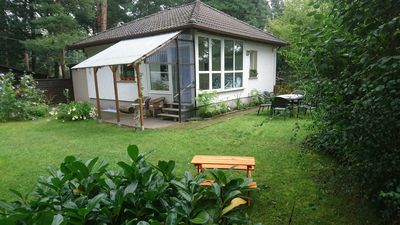 Photo for Cozy cottage for families with dog at the lake in Wischer