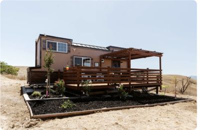 Photo for Secluded retreat/Remote office/City Escape TINY HOUSE/100 acre ranch/Livermore