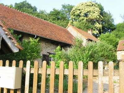Photo for Charming 18C farmhouse halfway between Paris and the Med!