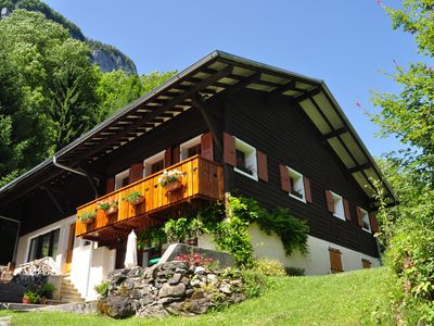 Photo for Spacious Chalet In Stunning Alpine Village Location, Catered, Self-catered, B&B
