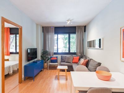 Photo for Modern and bright design in a central 3bdr apt