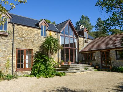 Photo for Stunning 18thc Barn Just 10 Minutes Walk To The Beach