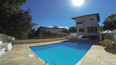 Photo for House with pool and excellent location in Praia do Julião
