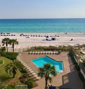 Photo for Stunning Condo w/Balcony, Gulf View, Pool, & More